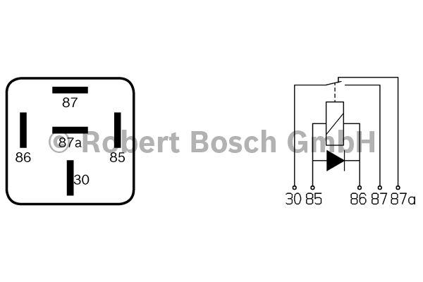 Relais - BOSCH - 0 332 204 212
