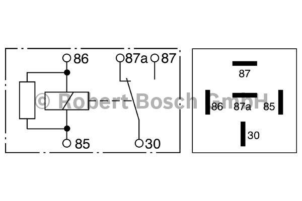 Relais - BOSCH - 0 332 209 207