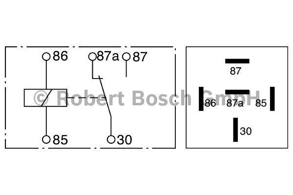 Relais - BOSCH - 0 332 209 211