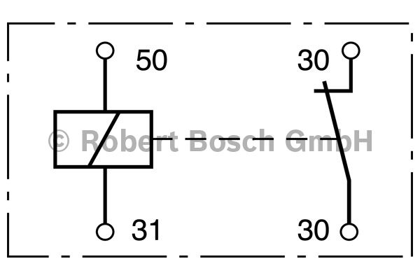 Relais - BOSCH - 0 333 006 008