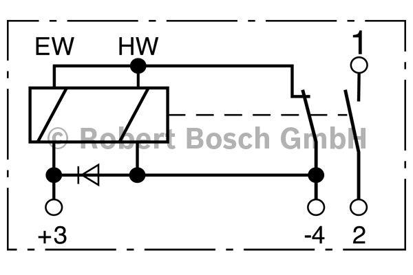 Relais - BOSCH - 0 333 006 017
