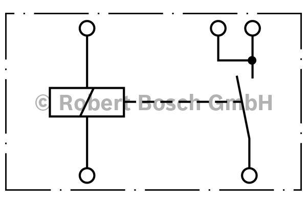 Relais - BOSCH - 0 333 007 002
