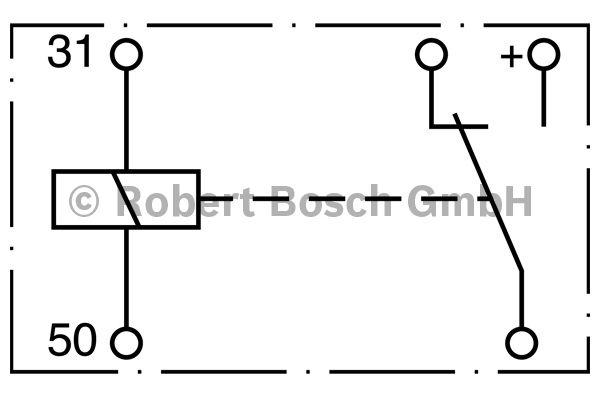 Relais - BOSCH - 0 333 201 012