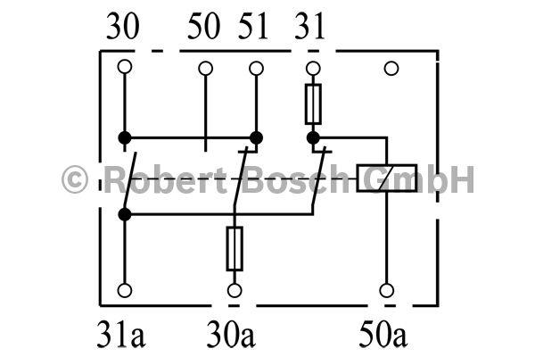 Relais de batterie - BOSCH - 0 333 300 003