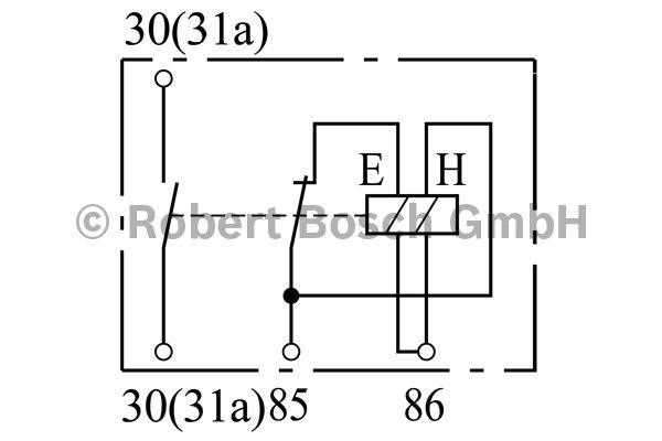 Relais de batterie - BOSCH - 0 333 301 010