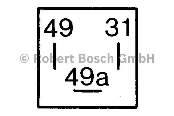 Centrale clignotante - BOSCH - 0 335 200 038