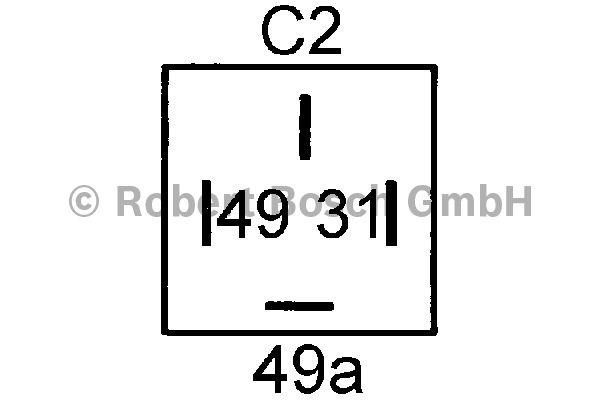 Centrale clignotante - BOSCH - 0 335 200 041