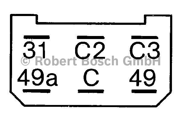 Centrale clignotante - BOSCH - 0 335 200 160