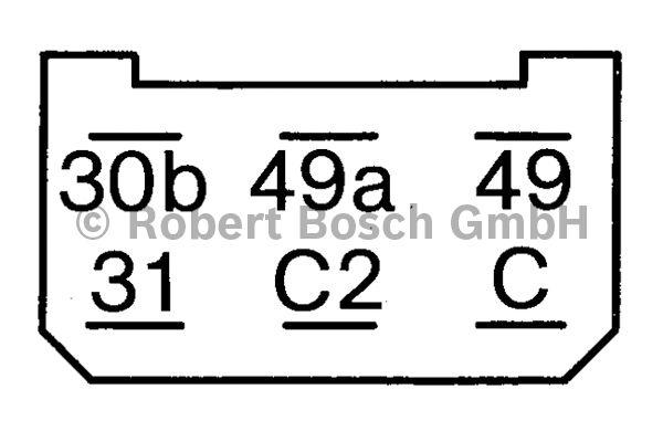 Centrale clignotante - BOSCH - 0 335 215 123