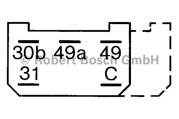 Centrale clignotante - BOSCH - 0 335 215 155