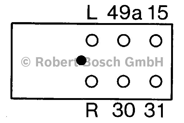 Centrale clignotante - BOSCH - 0 335 240 002