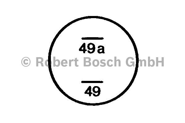 Centrale clignotante - BOSCH - 0 336 101 004