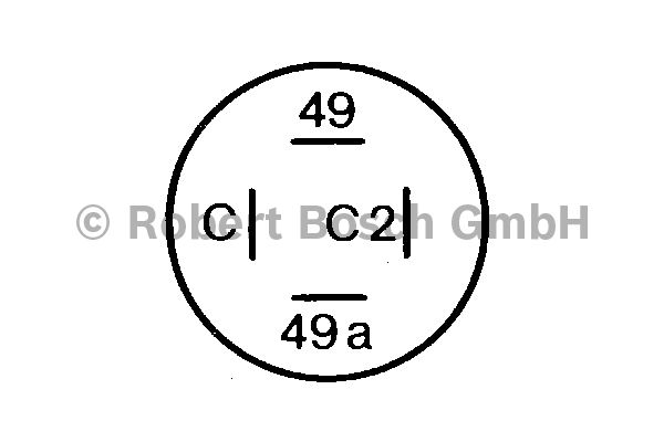 Centrale clignotante - BOSCH - 0 336 200 031