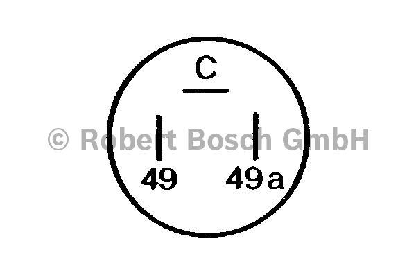 Centrale clignotante - BOSCH - 0 336 206 003