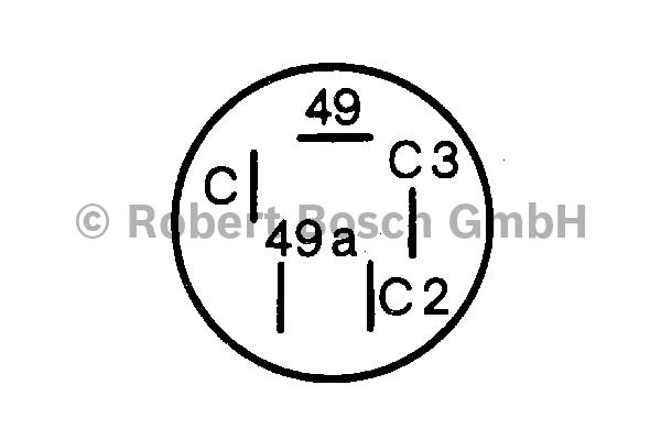 Centrale clignotante - BOSCH - 0 336 208 001
