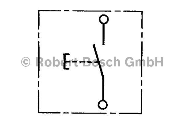 Interrupteur - BOSCH - 0 343 003 007