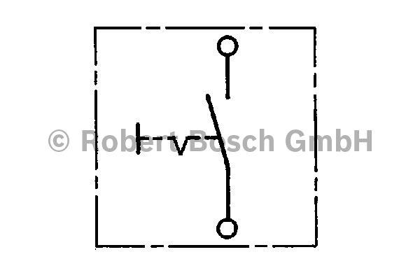 Interrupteur - BOSCH - 0 341 500 801