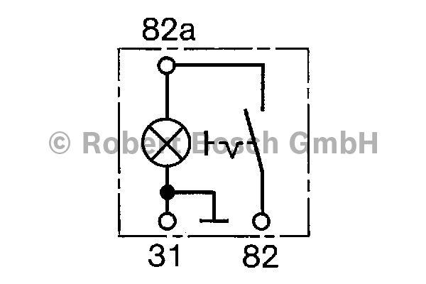 Interrupteur - BOSCH - 0 340 006 012