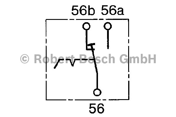 Interrupteur, lumière principale - BOSCH - 0 340 604 001