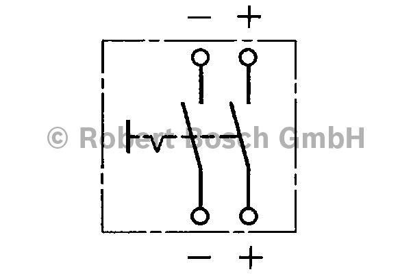 Interrupteur principal - BOSCH - 0 341 003 004