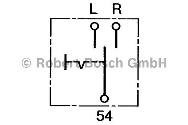 Comodo de clignotant - BOSCH - 0 341 101 001