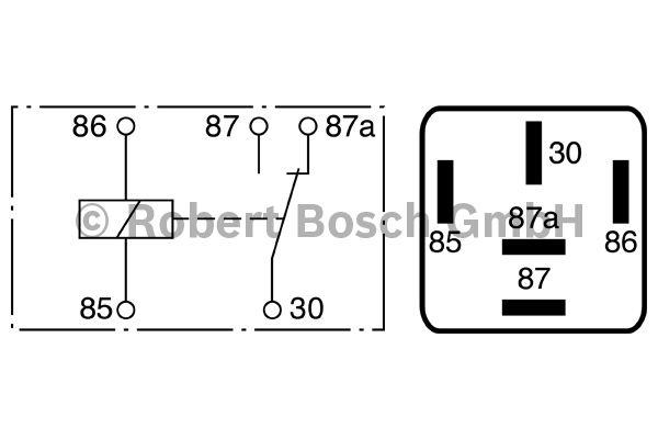 Relais - BOSCH - 0 986 332 022