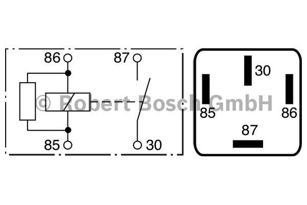 Centrale clignotante - BOSCH - 0 986 332 071