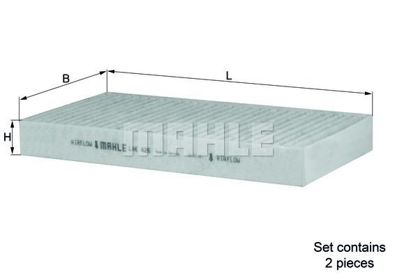 filtre air de l 39 habitacle renault laguna iii 2 150cv 2007 amapiece. Black Bedroom Furniture Sets. Home Design Ideas