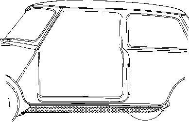 Plancher de carrosserie - VWA - 88VWA0201.10