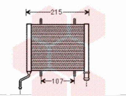 Radiateur, refroidissement du moteur - VAN WEZEL - 03002317