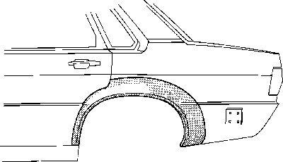 Panneau latéral - VWA - 88VWA0308147