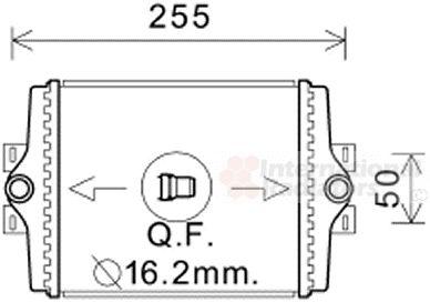 Radiateur, refroidissement du moteur - VAN WEZEL - 06002450