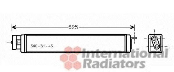 Radiateur d'huile - VAN WEZEL - 06003398