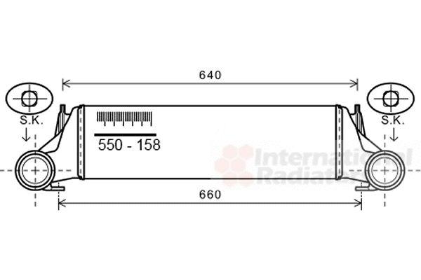 Intercooler, échangeur - VWA - 88VWA06004421