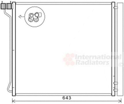 Condenseur, climatisation - VAN WEZEL - 06005474