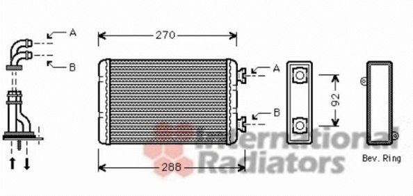 Système de chauffage - VWA - 88VWA06006173