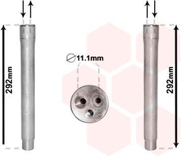 Filtre déshydratant, climatisation - VAN WEZEL - 0600D445