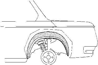 Passage de roue - VAN WEZEL - 0602.48