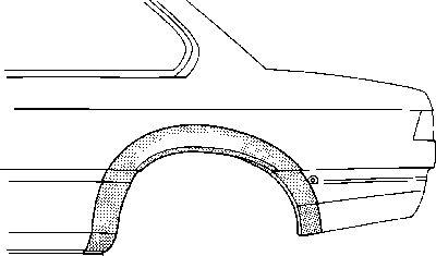 Panneau latéral - VWA - 88VWA0606145