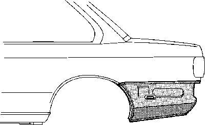 Panneau latéral - VWA - 88VWA0620133
