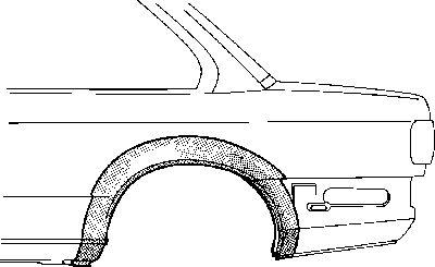 Panneau latéral - VAN WEZEL - 0640145