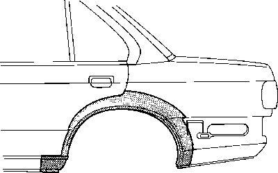 Panneau latéral - VWA - 88VWA0623147