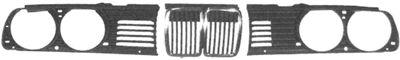 Grille de radiateur - VAN WEZEL - 0620511