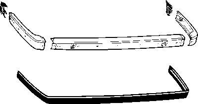 Pare-chocs - VWA - 88VWA0620533