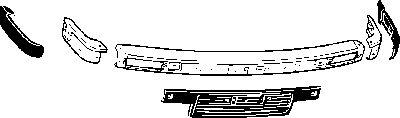 Pare-chocs - VAN WEZEL - 0620570