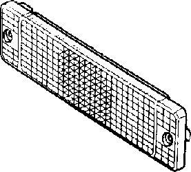 Voyant, feu clignotant - VAN WEZEL - 0620913