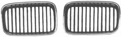 Grille de radiateur - VAN WEZEL - 0640516