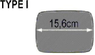 Verre de rétroviseur, rétroviseur extérieur - VWA - 88VWA0640836