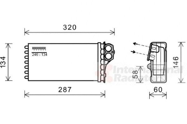 Système de chauffage - VAN WEZEL - 09006279