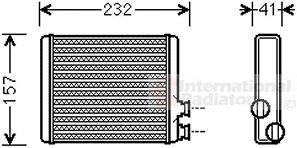 Système de chauffage - VAN WEZEL - 09006286